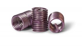 UNC 4-40 x 2D Locking Wire Thread Inserts (Bag of 100)