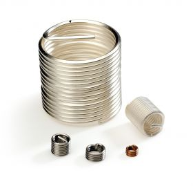M10-1.5x1.5D left hand wire thread inserts (Bag of 100)